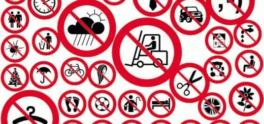 Запреты в Бельгии