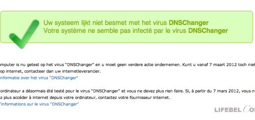 Вирус в Бельгии