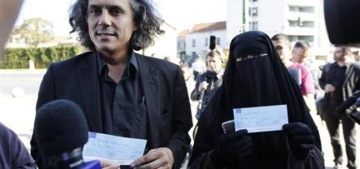 Французская ассоциация будет оплачивать штрафы бельгийских мусульманок носяших никаб