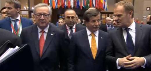 Европу будет возвращать беженцев в Турцию