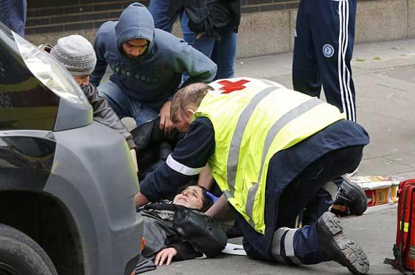 В Моленбеке сбили мусульманку