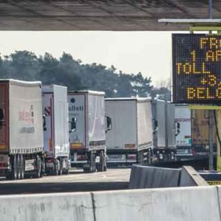 Новый налог на грузовой транспорт в Бельгии