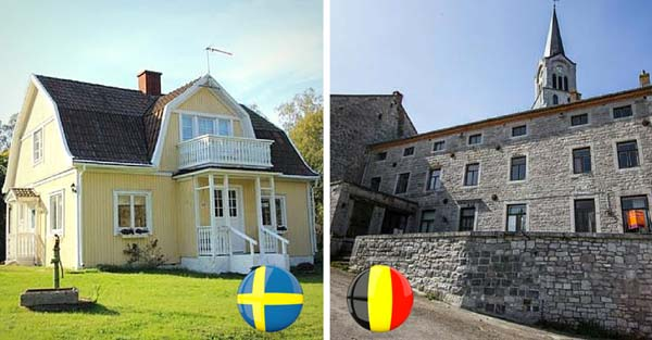 Бельгия - Швеция