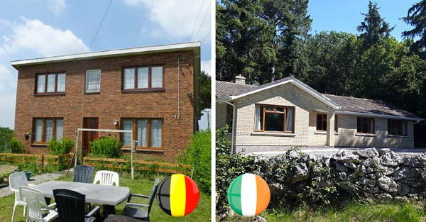 Недвижимость в Бельгии VS Недвижимость в Ирландии