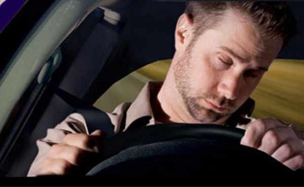 Заснуть за рулем