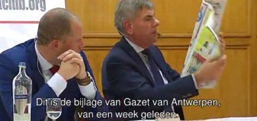 Отрывок из вчерашних дебатов, посвященных миграционной политике Бельгии