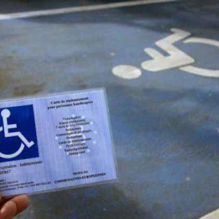 Парковочные места для инвалидов Бельгии