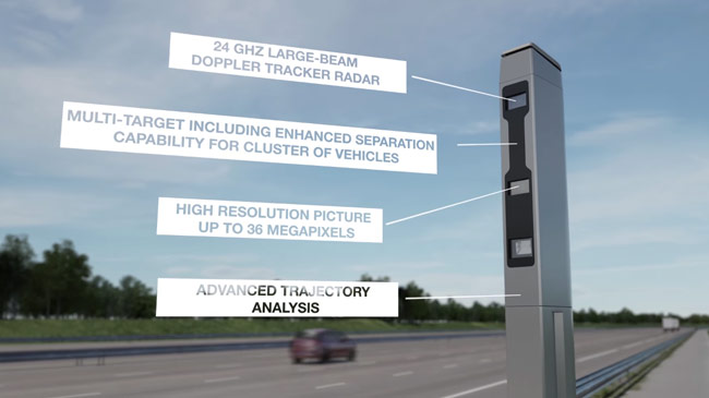 Бельгия внедряет радары нового образца