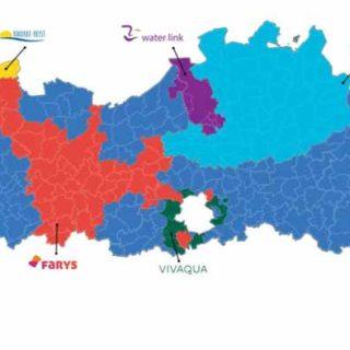Увеличение стоимости воды: график поставщиков по регионам