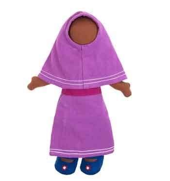 Причина, по которой создаются безликие куклы, — запрет шариата на изображение лиц живых существ.