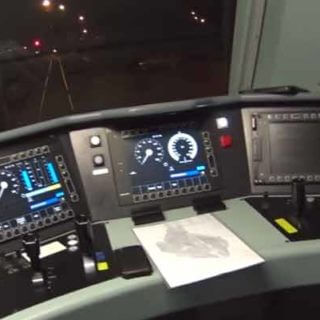 Рабочее место водители локомотива в Бельгии