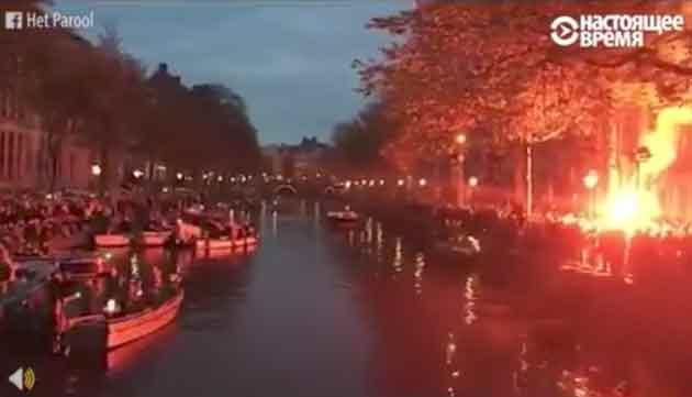 Как прощаются со своим мэром жители Амстердама