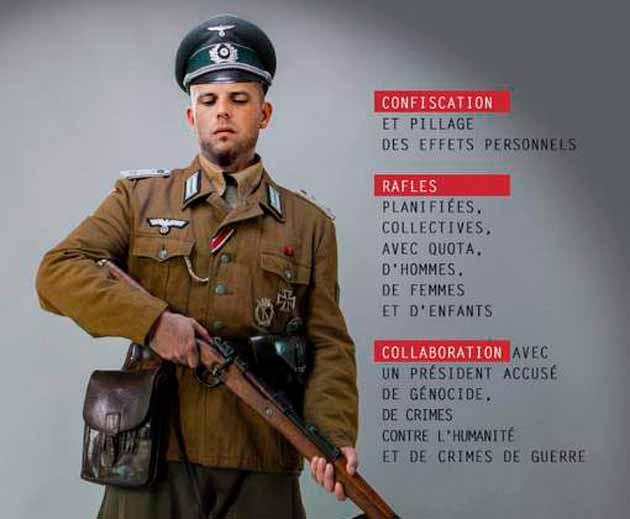 Франкен подает жалобу на Ecolo, которое выставили его фото в нацистской форме