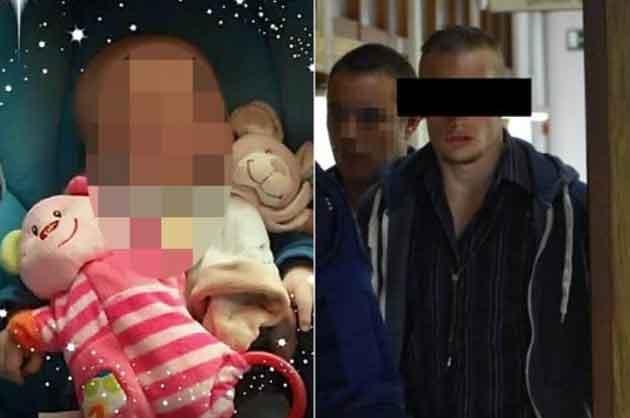 Бельгийца приговорили к 18 годам за убийство собственного ребенка