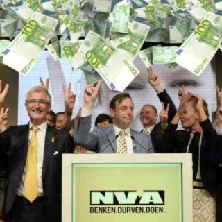 NVA - самая богатая партия Бельгии