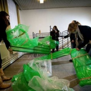 Центр приема беженцев в Houthalen-Helchteren закрывает свои двери. Фото: Раймонд Лемменс