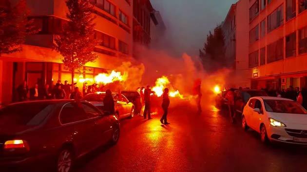 Очередное свадебное шествие задержано в Антверпене