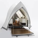 Бельгийский архитектор разработал проект роскошного передвижного дома