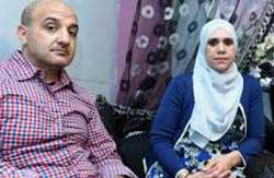 на фото: Карима со своим мужем Зухаром