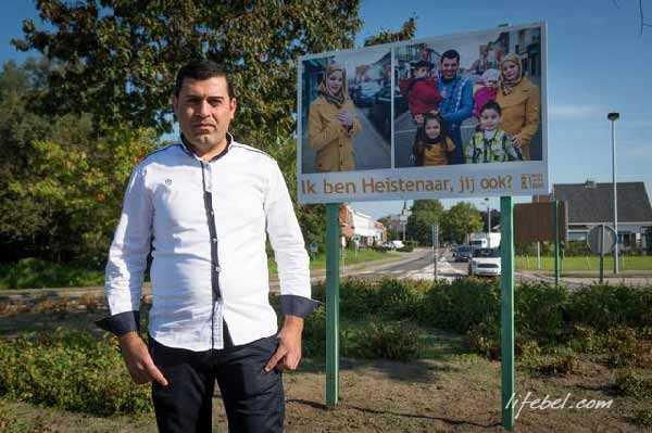 На фото: Мухаммад Абу Шамалла из Палестины