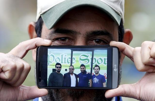 Джаббар из Ирака со своими двоюродными братьями
