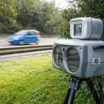 Радар скорости нового образца в Бельгии