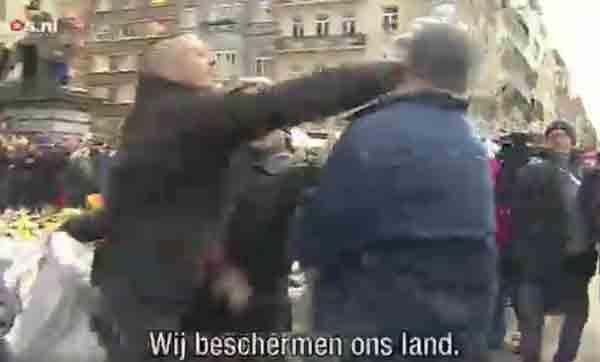 Столкновения в Брюсселе