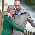 На фото: Йелле со своим женихом Силке