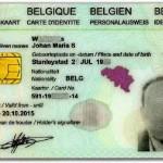 Бельгийский паспорт