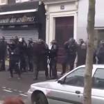 Столкновения в Париже