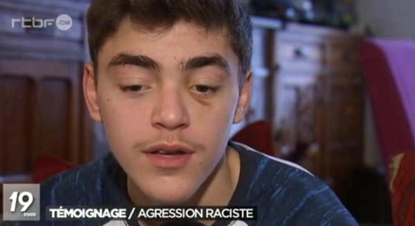Школьника избили из-за событий в Брюсселе
