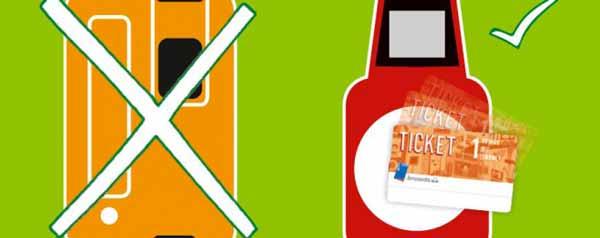 MIVB oranje ontwaardingstoestellen