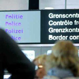 Контроль в аэропорту Завентем