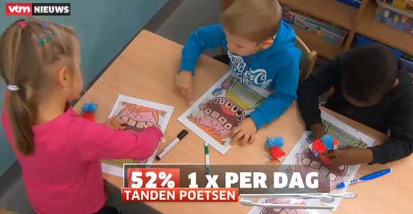 Исследование: бельгийские дети чистят зубы только один раз в день