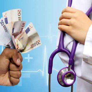Настолько больше вам придется платить за визит к врачу