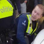 Задержание магазинных воров в Антверпене
