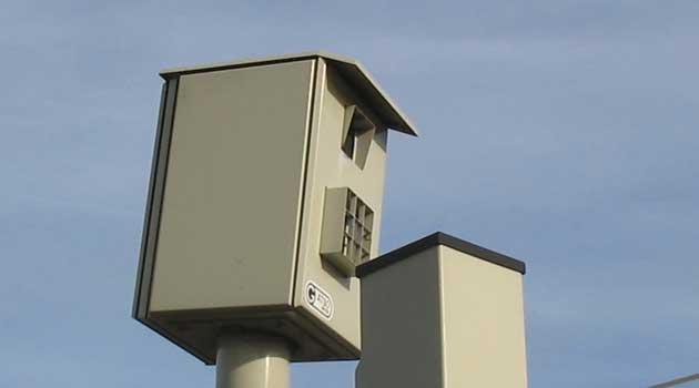 Бельгиец получил штраф за резкое торможение в зоне действия радара