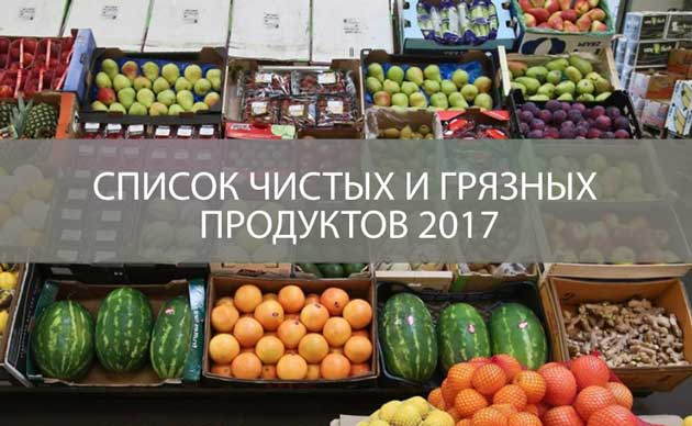 Пестициды в овощах и фруктах: список чистых и грязных продуктов в наших супермаркетах