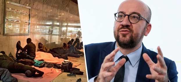 """Премьер министр Бельгии Шарль Мишель: """"Просите убежище!"""""""
