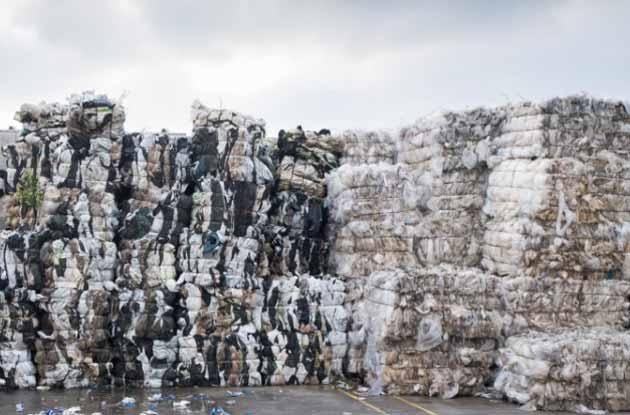 В Бельгии будут храниться от 40 000 до 50 000 тонн пластиковых отходов,