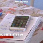 Половина бельгийцев пользуется смартфонами во время еды