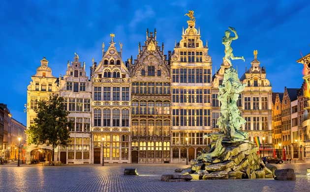 Антверпен – портовая столица Бельгии
