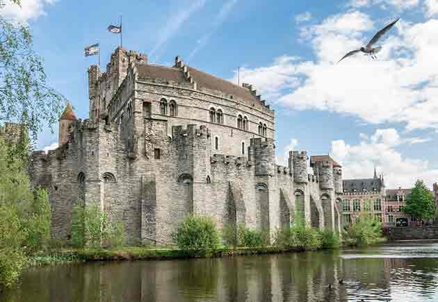 Замок графов Фландрии
