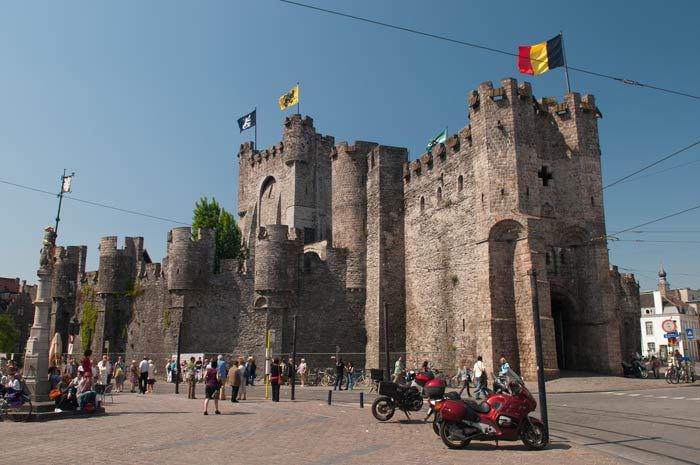 Замок графа Фландрии