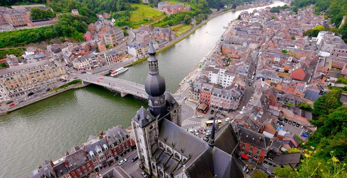 Экскурсия в Намюр, столицу французской Бельгии