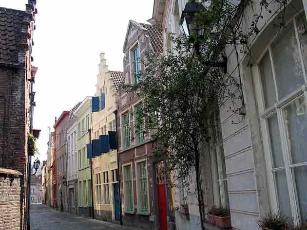 Патерсхол – старый квартал в центре города