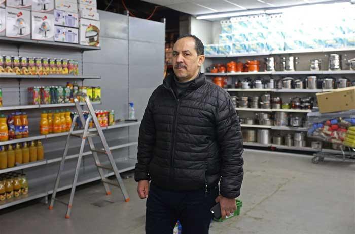 Bouihrouchane Mbark, владелец супермаркета Aswak Souss в Брюсселе
