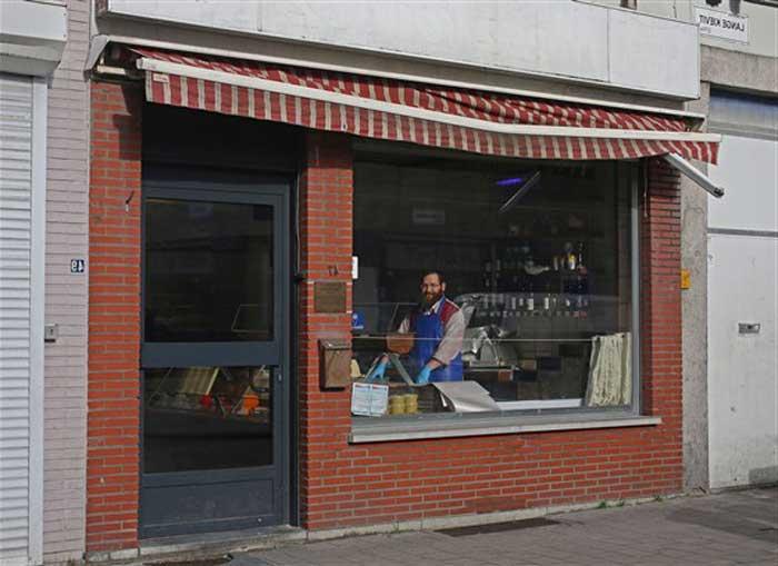 Moszkowitz в Антверпене