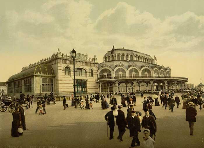 Старые фотографии города Остенде