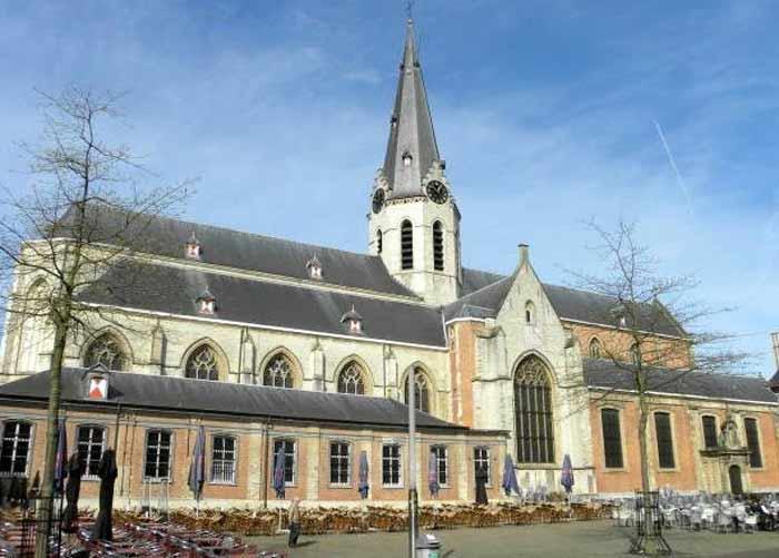Церковь Святого Николая города Синт-Никлас. Бельгия